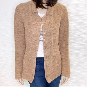 Apt. 9 Tan Cardigan Size Large
